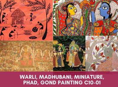 all courses - Warli Madhubani Miniature Phad Gond Painting C10 01 400x295 - All Courses