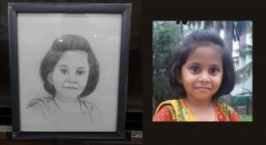 portrait pencil sketching services - Portrait Painting 09 300x164 - Portrait Pencil Sketching Services