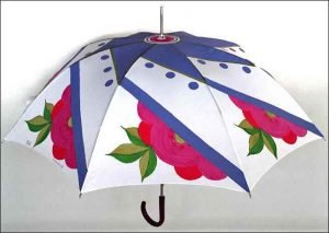 fabric and glass painting - Umbrella Painting C09 17 02 300x213 - Umbrella Painting C09-17 Course Photo Gallery