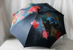 fabric and glass painting - Umbrella Painting C09 17 03 300x205 - Umbrella Painting C09-17 Course Photo Gallery